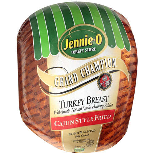 Jennie-O Grand Champion Cajun Style Fried Turkey, Deli Sliced
