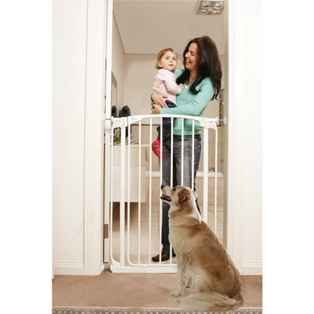 Click here for CHELSEA TALL AUTO CLOSE STAY OPEN SECURITY GATE WH... prices