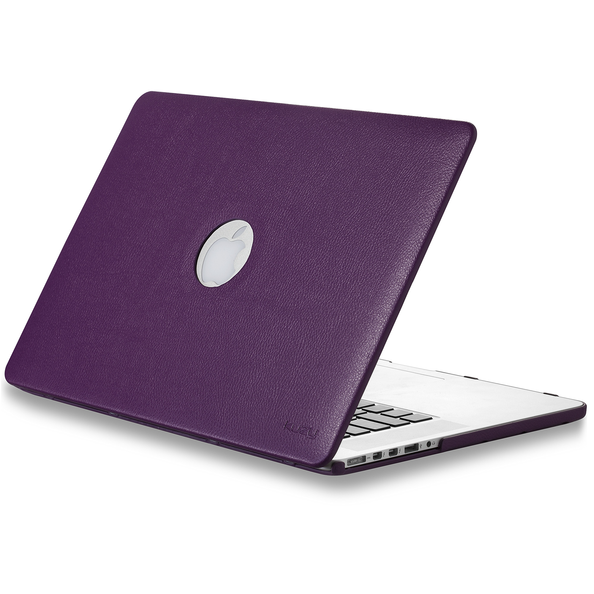 """Kuzy - LEATHER Hard Case for Older MacBook Pro 15.4"""" with..."""