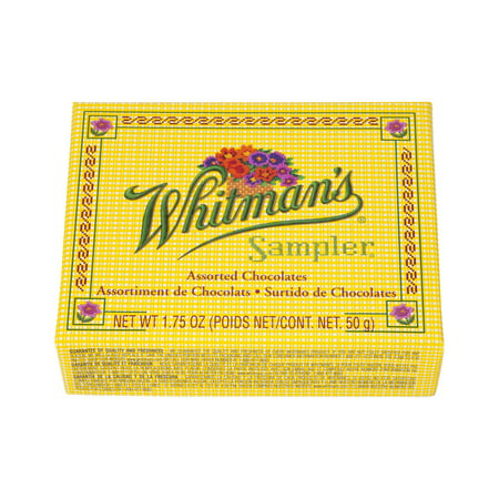 Whitman's Sampler Assorted Chocolates, 1.75 OZ