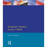 English Poetry Since 1940 - eBook