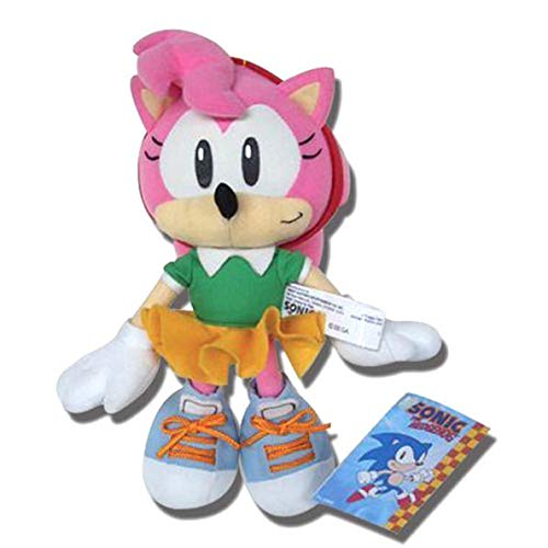 Sonic The Hedgehog Great Eastern GE-7053 Classic Amy Plush (Sonic Amy Toy)