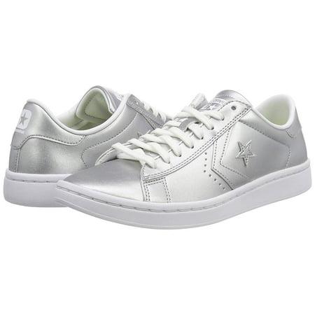 9bc8a3992f3ae7 Converse Women s Pl Lp Ox Porpoise   White Ankle-High Fashion Sneaker -  8.5M ...