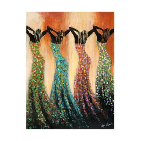 Dance of the Summer Solstice Print Wall Art By Monica Stewart