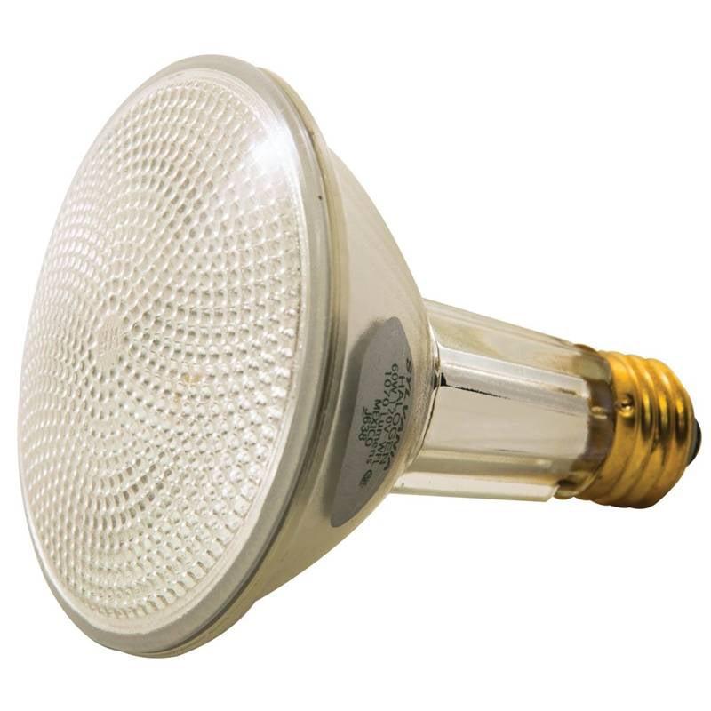 Sylvania 16168 Tungsten Halogen Lamp, 60 W, 120 V, PAR30LN, Medium Screw ,, 1500 hr