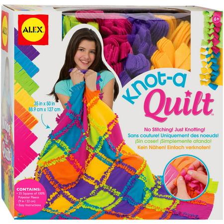 ALEX Toys Craft Knot A Quilt Kit m8u69uy