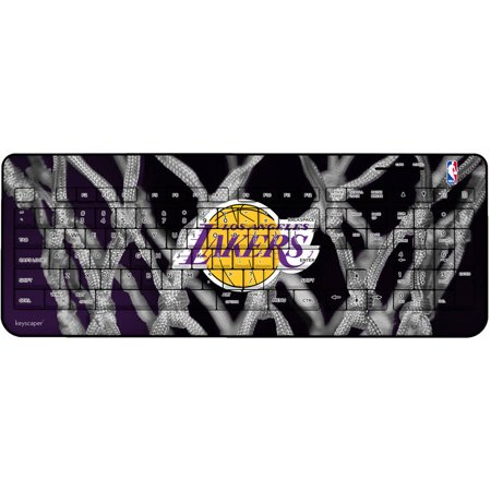 Los Angeles Lakers Net Design Wireless USB Keyboard by Keyscaper by
