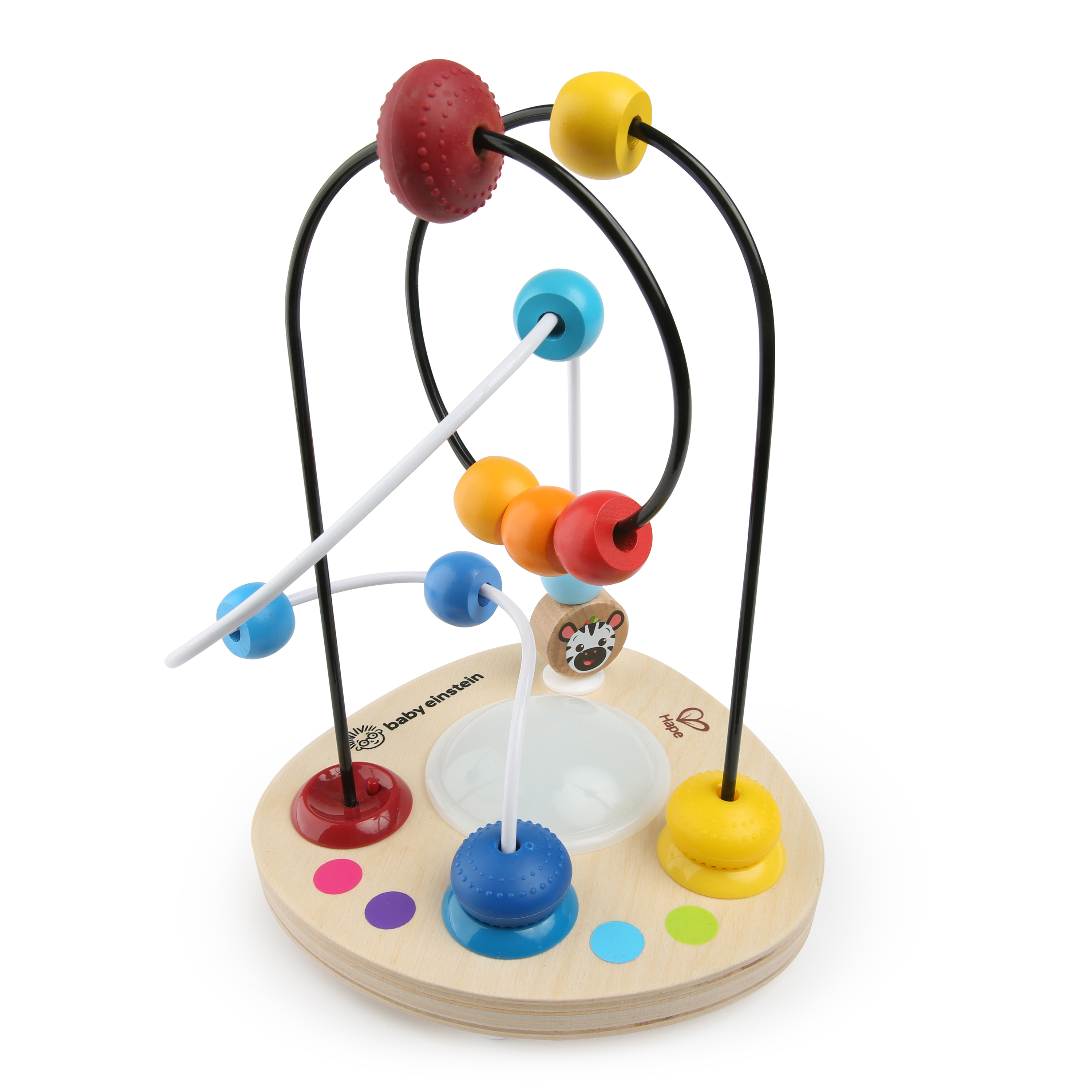 Baby Einstein Color Mixer Wooden Bead Maze Toddler Toy