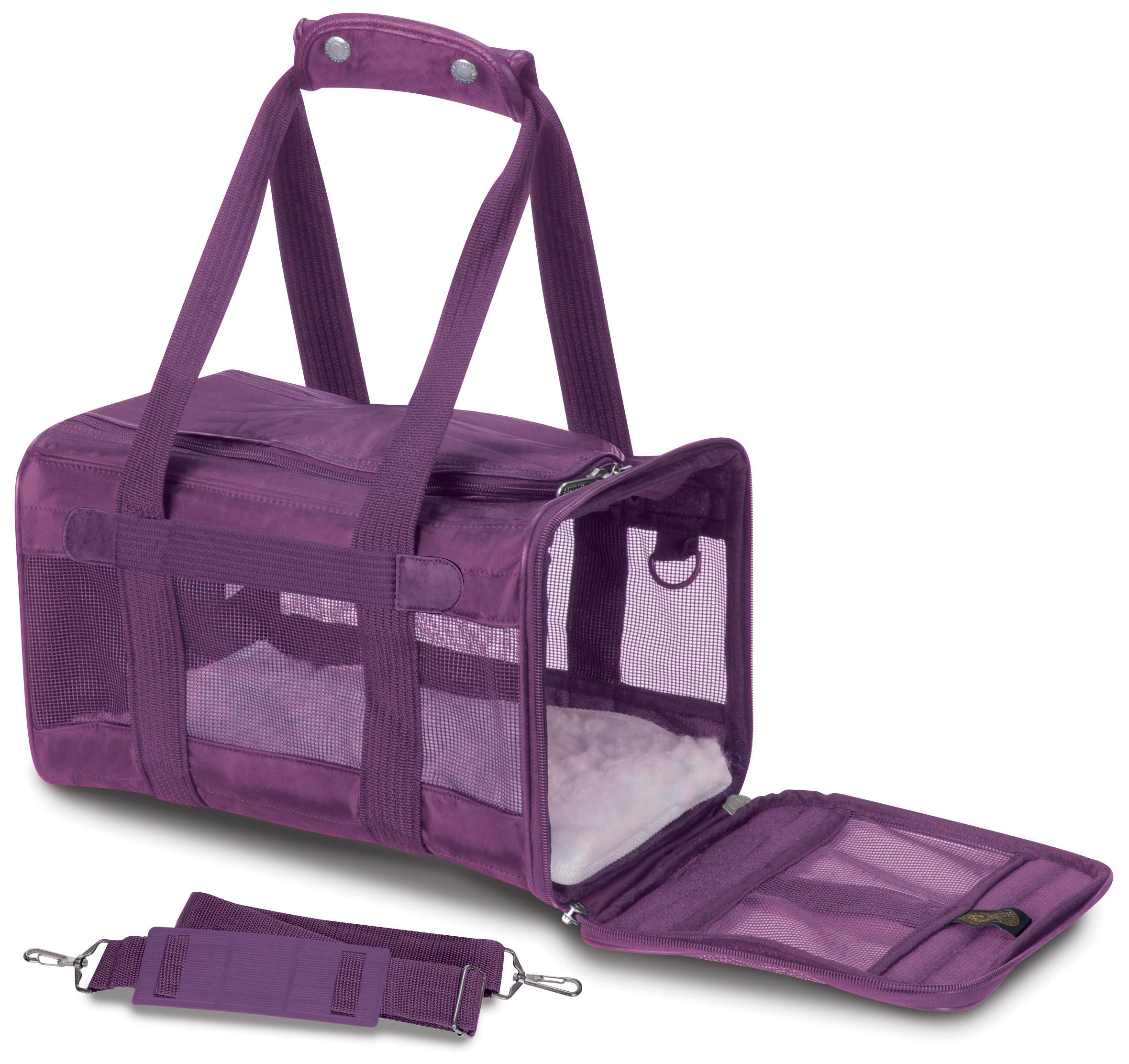 Sherpa® Original Deluxe™ Pet Carrier, Medium, Plum
