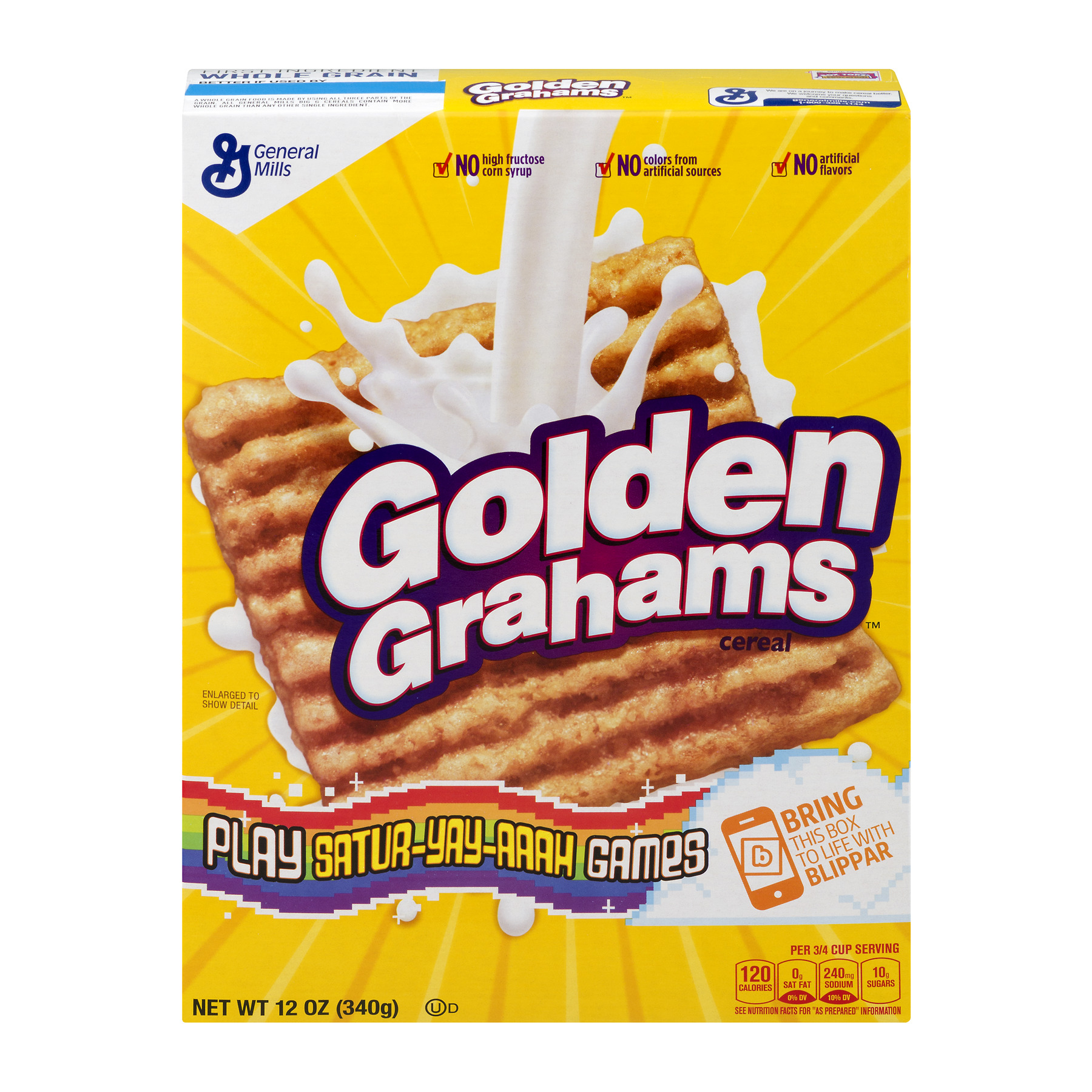 Golden Grahams Breakfast Cereal, 12 oz