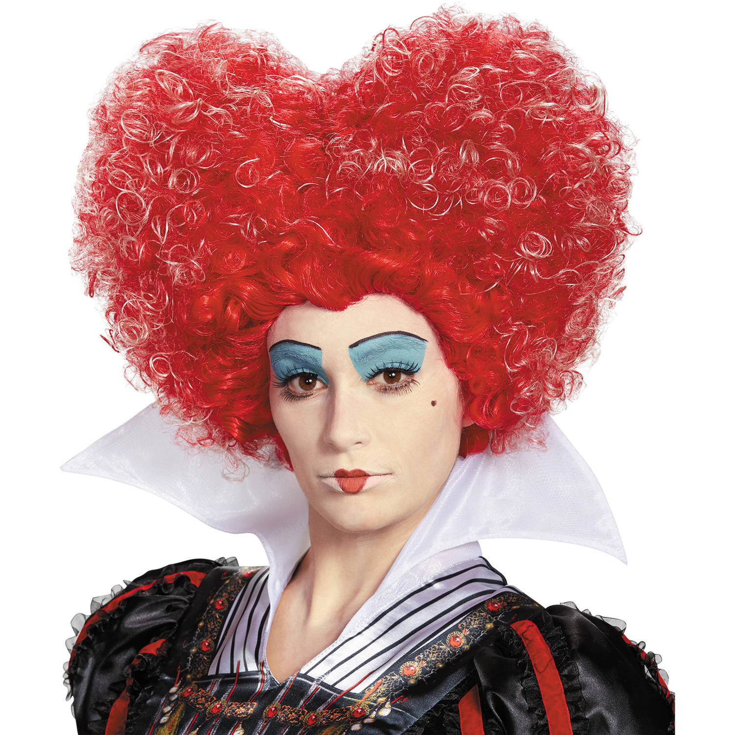 Red Queen Wig Adult Halloween Costume Accessory