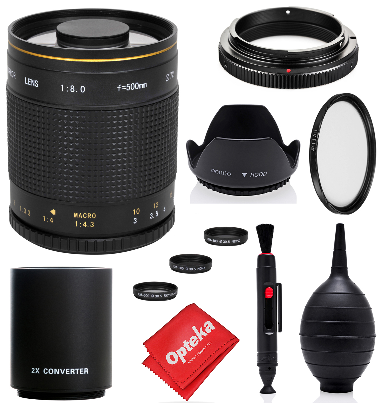 UV1a, CPL, FLD Filter Set for Canon EOS Rebel T6i High Grade Multi-Coated /& Threaded 82mm