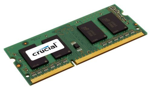 Crucial 4GB DDR3 1333 MHz 1.35 V Non-ECC Unbuffered 204-pin SoDIMM Memory