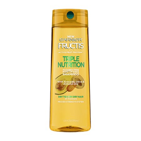 Fortifying Care - Garnier Fructis Triple Nutrition Fortifying Shampoo, 12.5 Oz