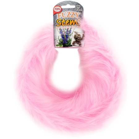 Fuzzy Stem 9' - Pink](Funky Punk)