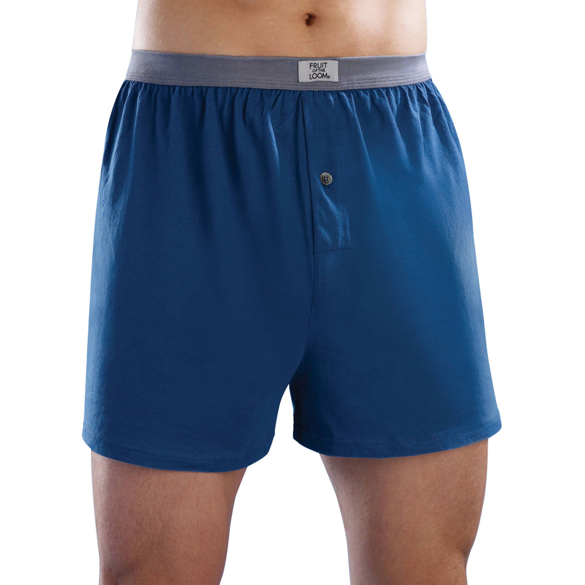 Fruit of the Loom Big Men's Assorted Color Knit Boxers, 5-Pack