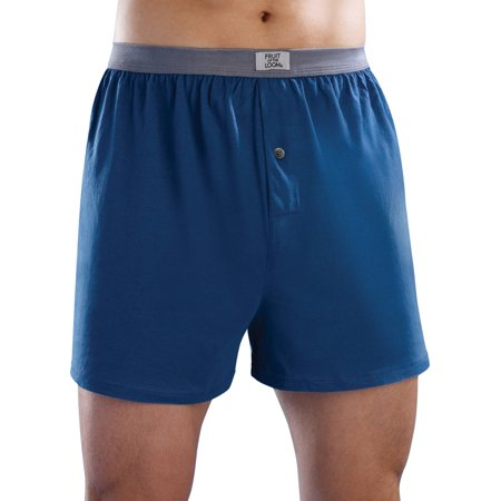 Fruit Of The Loom Big Mens Tag Free Knit Boxers  5 Pack