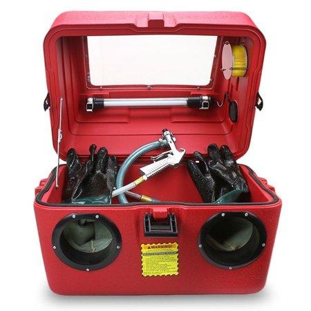 15 Gallon Bench Top Sandblasting Cabinet Box