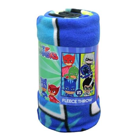 - Northwest PJ Masks Good Vs Evil Fleece Throw Blanket Novelty Character Bedding and Home Decor