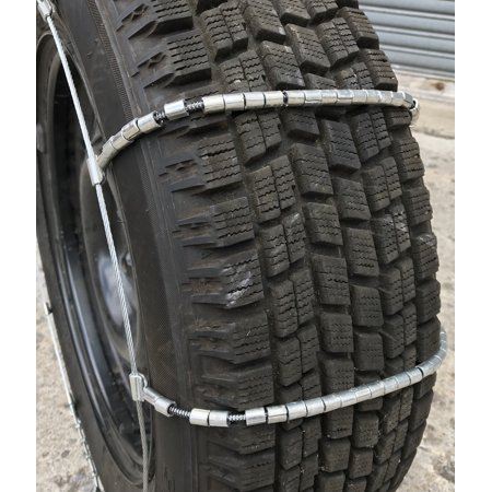 Snow Chains 195R13, 195/13 Cable Tire Chains, w/ Duffle Bag - image 3 of 4