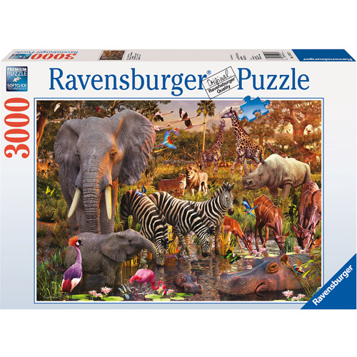 Ravensburger African Animals, 3,000 Pieces