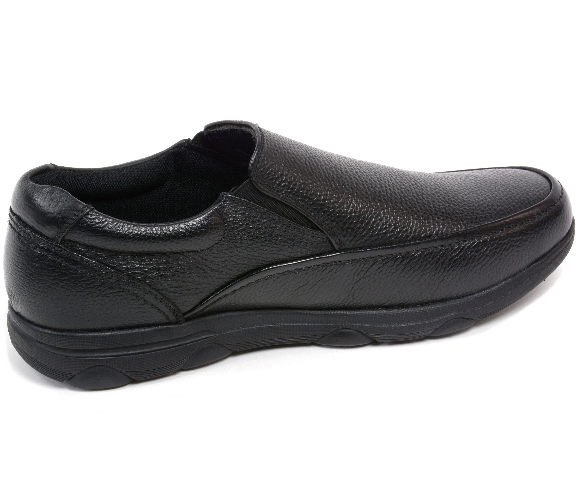 Alpine Swiss Arbete Mens Work Shoes Slip Resistant Real Leather Slip-On  Loafers - Walmart.com