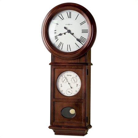 Howard Miller Lawyer II Key Wound Wall Clock
