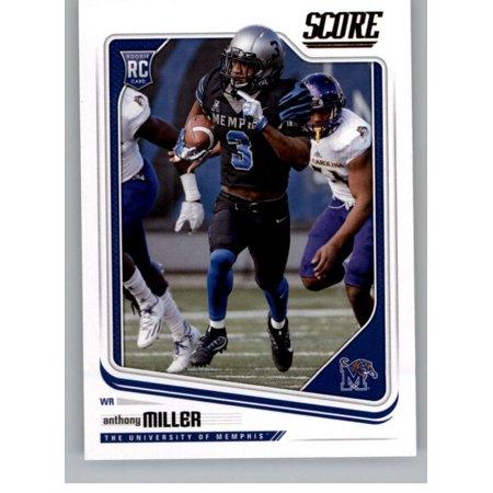 2018 Score #385 Anthony Miller Memphis Tigers Football Card 2012 Score Football Card