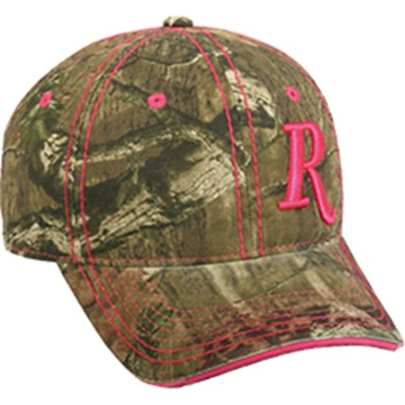 Outdoor Cap Company Ladies Remington Pink R Hat Mossy Oak Infinity