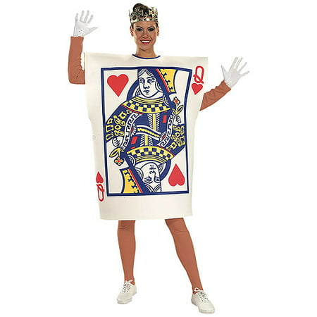 Queen of Hearts Adult Halloween Costume (Queen Costume Accessories)
