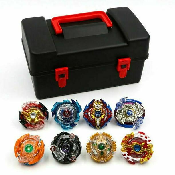 8pcs Beyblade Burst Evolution Arena Launcher Battle Stadium with Box Gift Toy