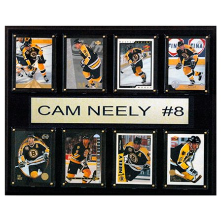 C and I Collectables NHL 15W x 12H in. Cam Neely Boston Bruins 8 Card Plaque