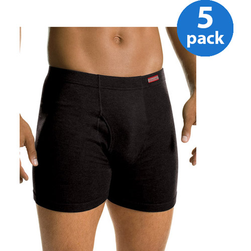Hanes Men's FreshIQ ComfortSoft Waistband Camo Boxer Brief 5-Pack by Hanes