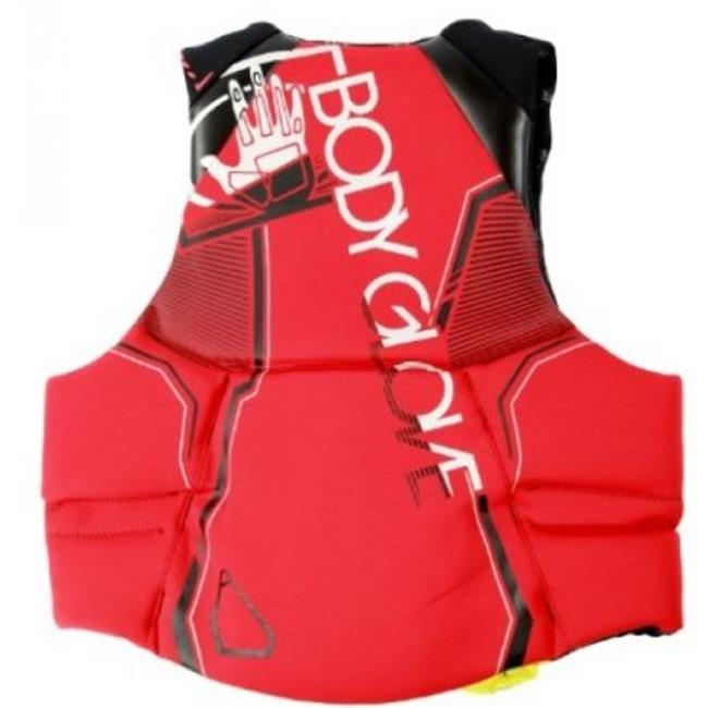 Body Glove 12225-L-RED Mens Magnum Neoprene PFD - Large, Red