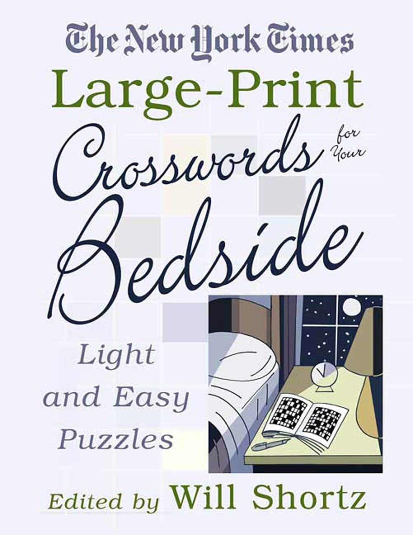 photo relating to Easy Printable Crosswords named The Clean York Instances Major-Print Crosswords for Your Bedside : Light-weight and Very simple Puzzles