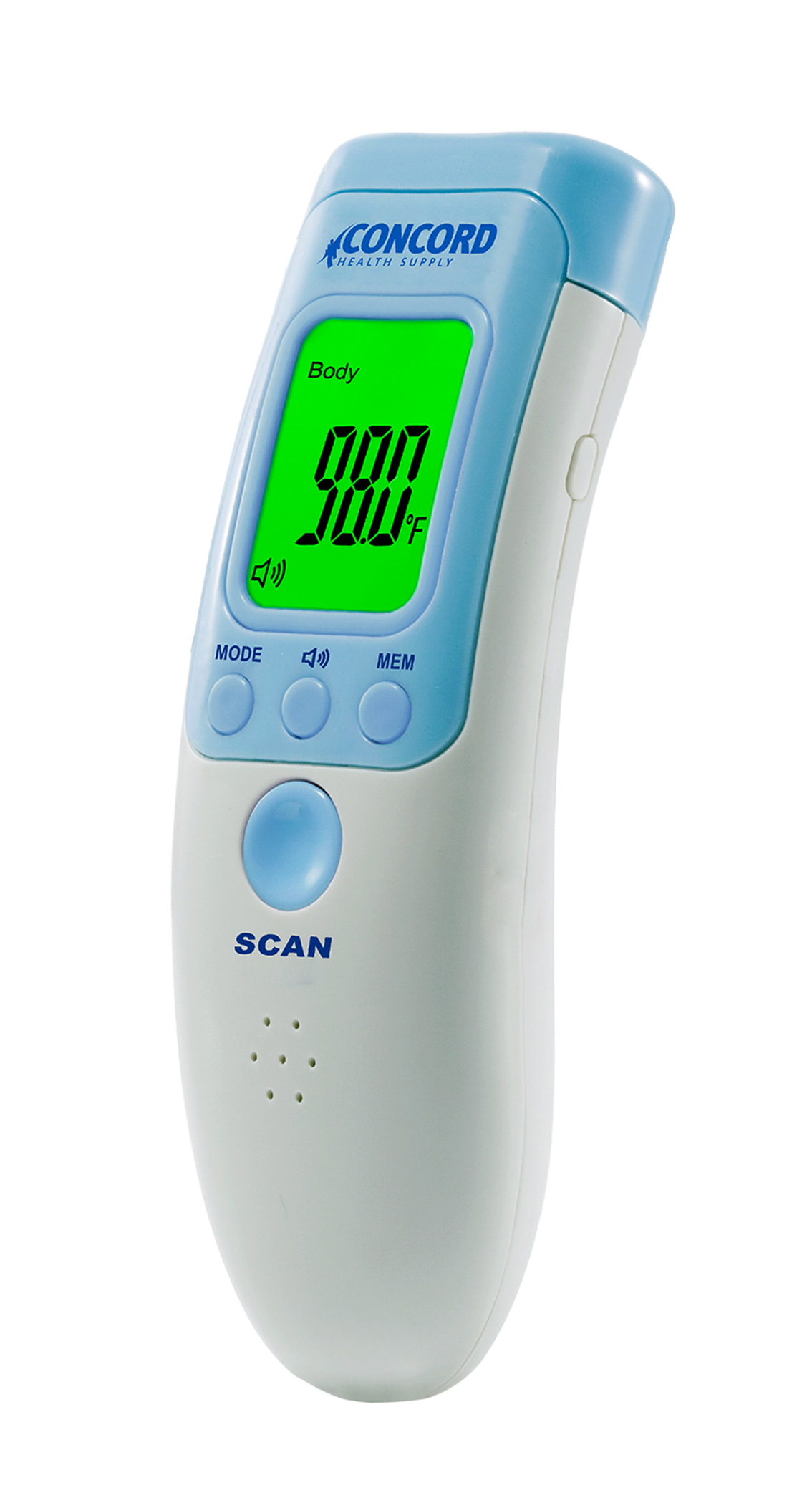 Concord Non-Contact Infrared Thermometer Suitable for Baby, Infants, Toddlers, and Adults by Concord Health Supply
