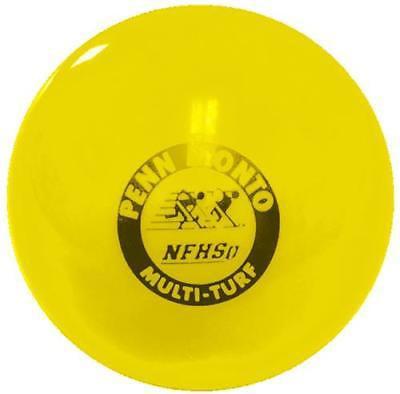 Penn Monto FPM 700 NFHS Multi-Turf Field Hockey Game Balls (dz), Yellow