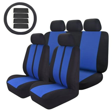 Custom Truck Seat (14PC Car Seat Covers Universal Custom Full Set for Car SUV Truck or Van)