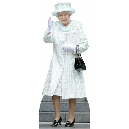 Star Cutouts Queen Elizabeth Cardboard Cutout Life Size Standup