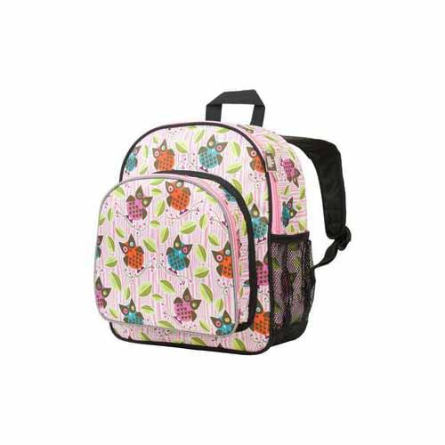 Owls Pack 'n Snack Backpack