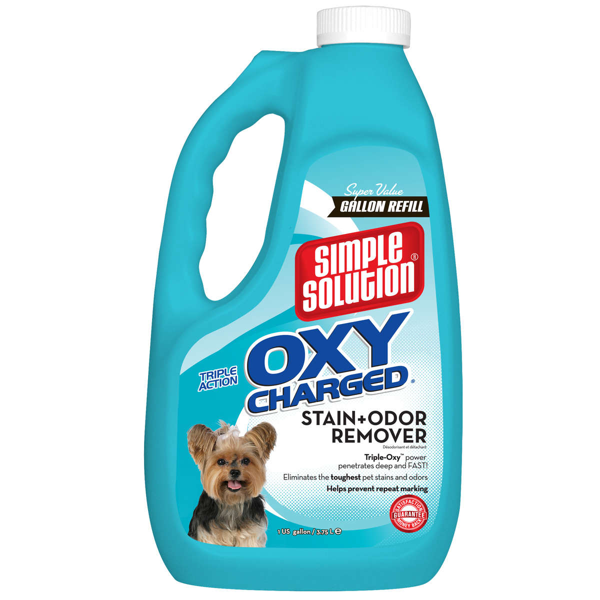 """Simple Solution Oxy Charged Stain and Odor Remover 1 Gallon 5.42"""" x 7.09"""" x 11.88"""""""