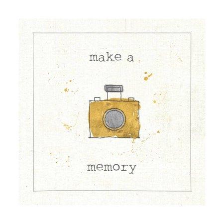 Lil Memos Make a Memory Print Wall Art By Pela Studio