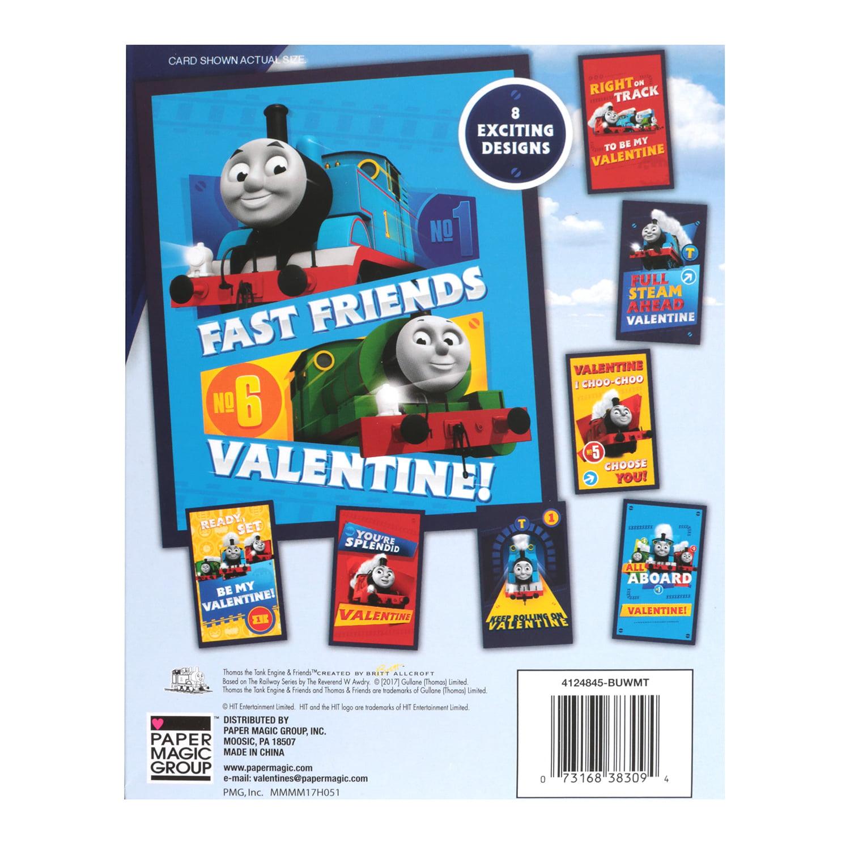 32ct Thomas The Train Valentine Cards