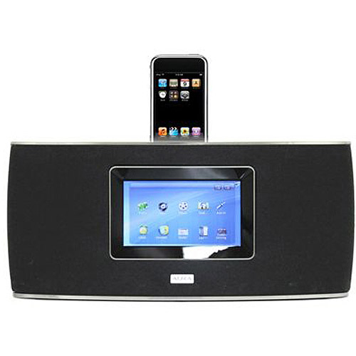 "Aura AS100A iPod/iPhone 50W Docking Speaker with 7.0"" Touchscreen"
