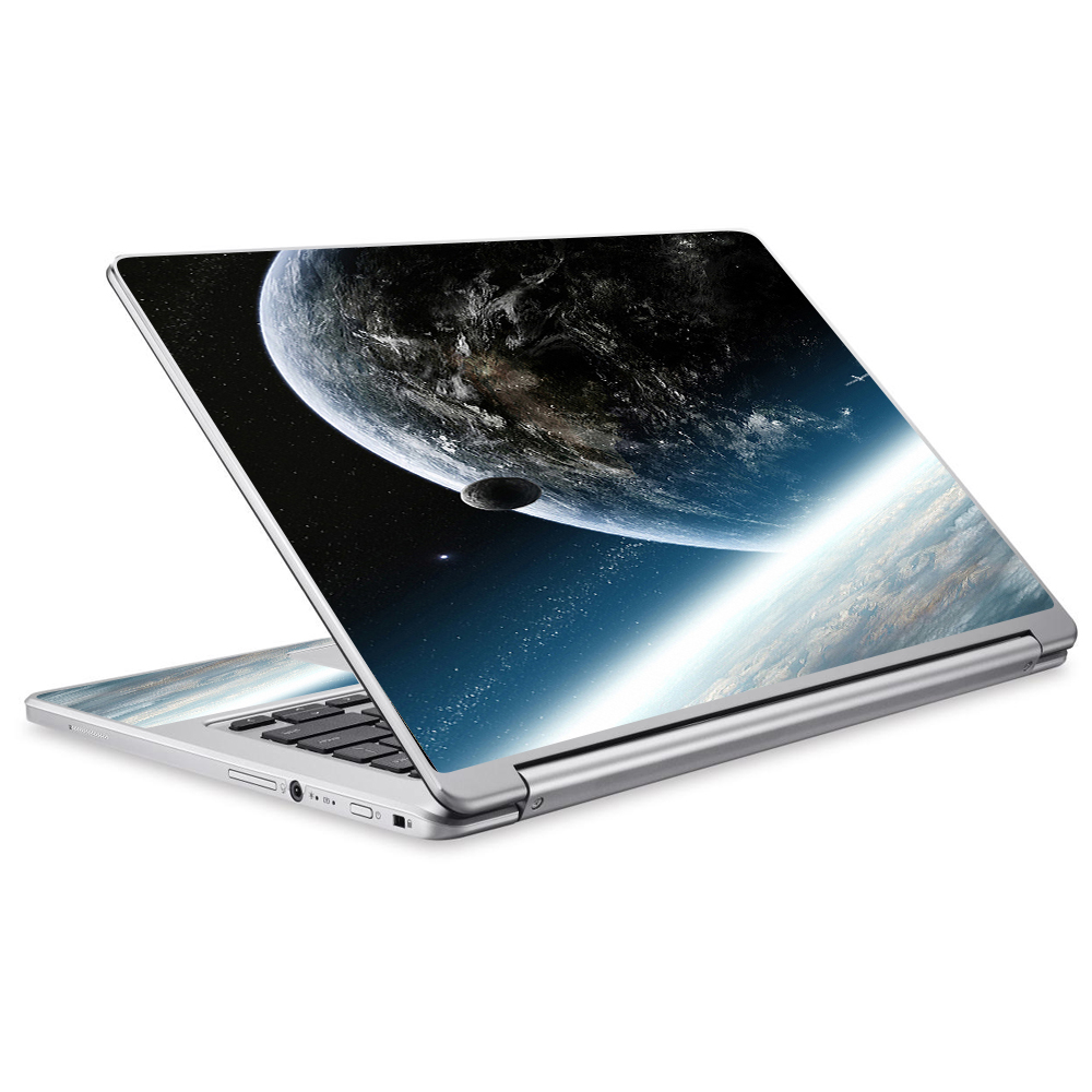 Skins Decals For Acer Chromebook R13 Laptop Vinyl Wrap / Earth Space