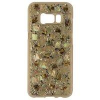 Case-Mate Karat Pearl Hard Case for Samsung Galaxy S8 - Clear/Silver/Pearl