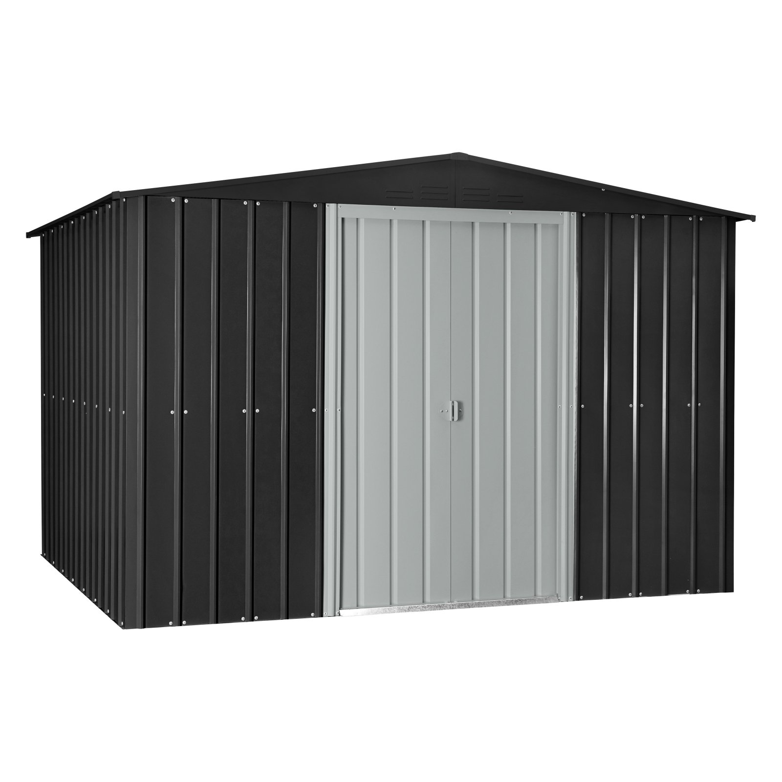 Globel 10'x8' Gable Roof Metal Storage Shed