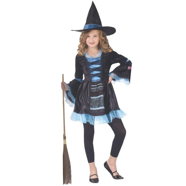 Costumes For All Occasions Fw121282Sm Victorian Witch Child 4-6 - image 1 of 1