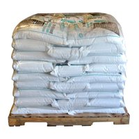 Bare Ground coated granular blend with Calcium Chloride pellets (Base UPC 0063227250512) Size 50 lb bags (45 ct)