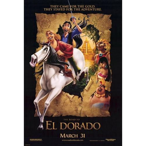 Road to El Dorado Movie Poster (11 x 17)